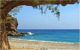 Ierapetra: Strand bei Koutsouras