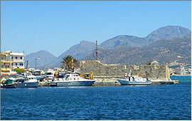 Ierapetra: Hafen und Festung