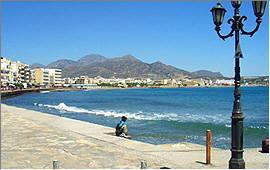 Ierapetra: Uferpromenade
